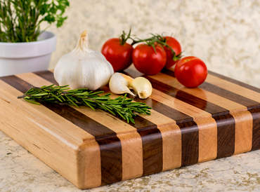 Striped Cutting Board 1