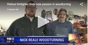 Nick Reale Woodturning Fox 13 Charley's World